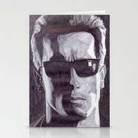 terminator Stationery Cards featuring Terminator by DeMoose_Art