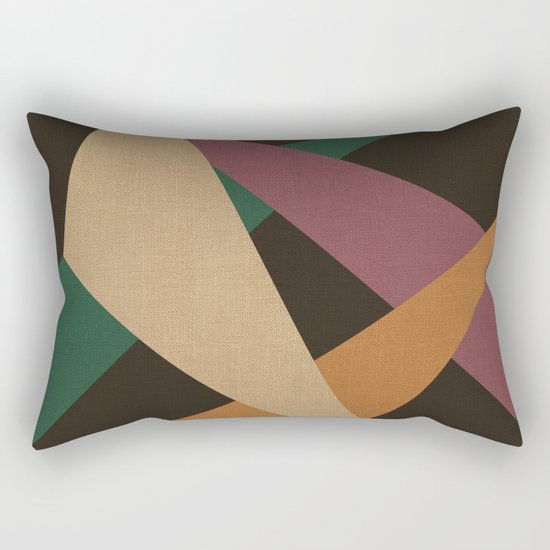 GEOMETRIC ABSTRACT 2 Rectangular Pillow