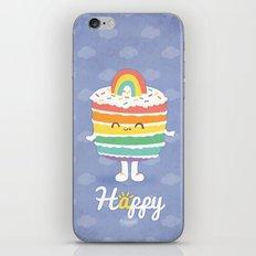 Happy Rainbow Cake iPhone & iPod Skin
