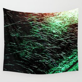 Abstract Water Spray Wall Tapestry