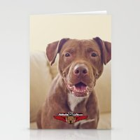 cookie Stationery Cards featuring Cookie by Pit Bulls for Life