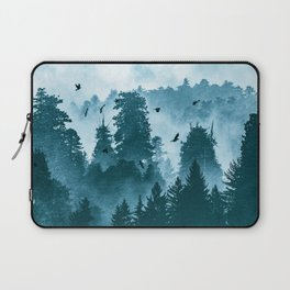 Redwood Forest Teal Adventure - National Parks Nature Photography Laptop Sleeve
