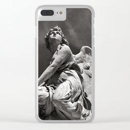 OUT OF THE DARK - INTO THE LIGHT Clear iPhone Case