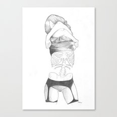 Under your skin Canvas Print