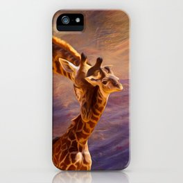 Tenderness Painted iPhone Case