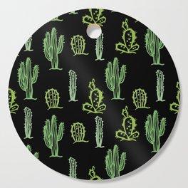 Cactus pattern Cutting Board