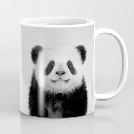 Panda Bear - Black & White Coffee Mug