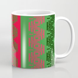 COOL BLACK RED GREEN Coffee Mug