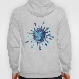 Abstract Alcohol Ink Painting Hoody