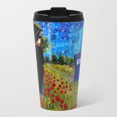 mary poppins and phone box at rose field iPhone 4 4s 5 5c 6, pillow case, mugs and tshirt Travel Mug