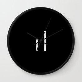 infiniteloop logo Wall Clock
