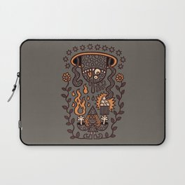 Grand Magus Summons Entity With Dark Popcorn Power Laptop Sleeve