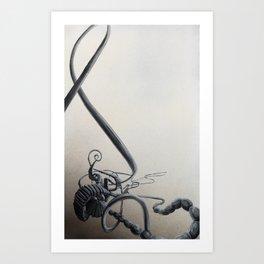 Organics 4 Art Print