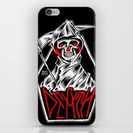 The Death Metal iPhone Skin