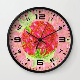 Summer Glitter #7 Wall Clock