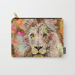 LION AND THE ROSE Carry-All Pouch