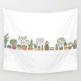 pot plants Wall Tapestry