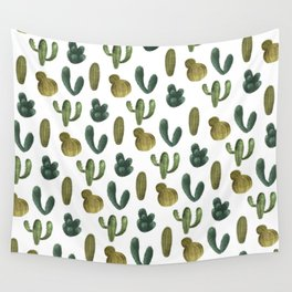Cacti Party Wall Tapestry