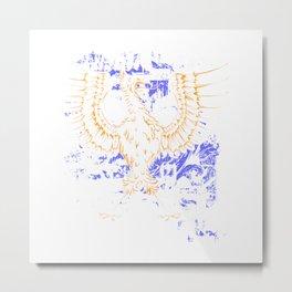 Majestic Eagle Bird Metal Print