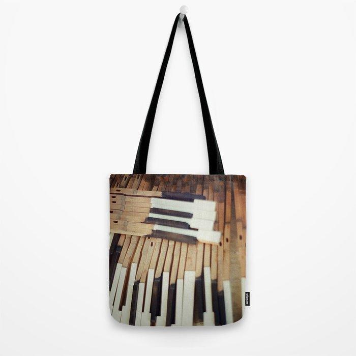Almost Piano Tote Bag