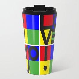 i LOVE YOU ! Travel Mug