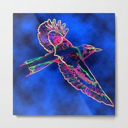 Bird of the Mist Metal Print