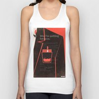 mad men Tank Tops featuring Mad Men Poster Print by Take Heed