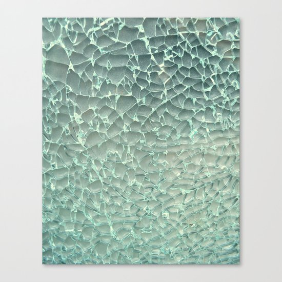 Shattered Canvas Print