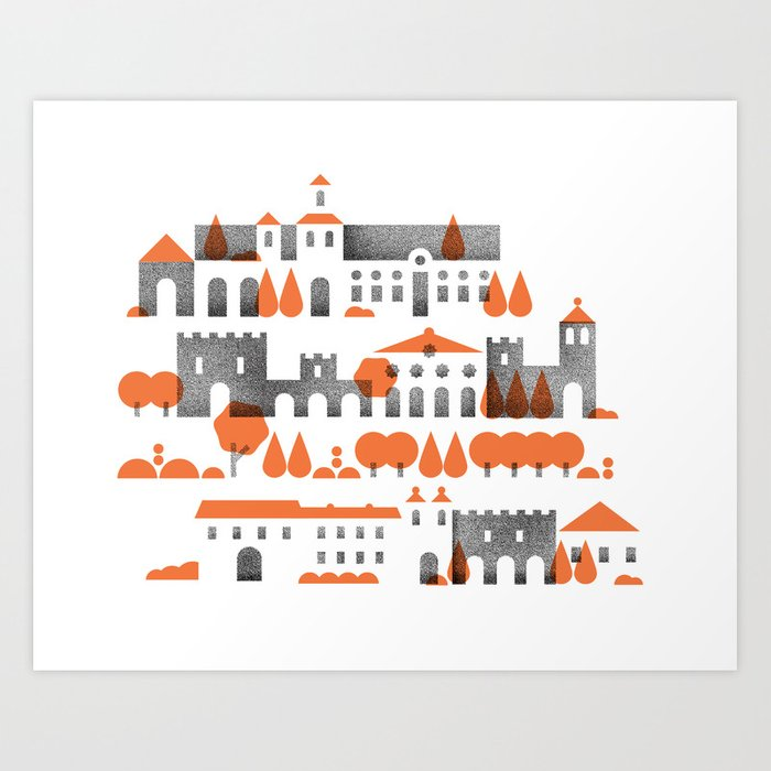 The Alhambra Art Print