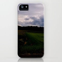 South Maple Street Corn iPhone Case
