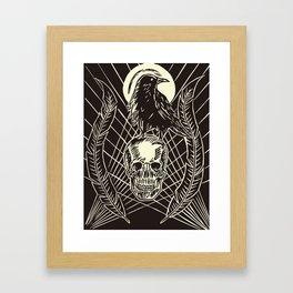 Transición I: Presagio. Framed Art Print