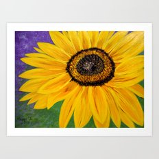 Color of the sun Art Print