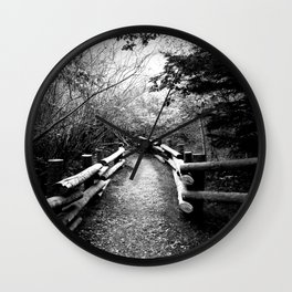 The path to freedom Wall Clock