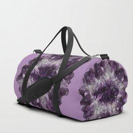Amethyst Asteroid Duffle Bag