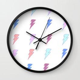 Sweet & Spicy Lightning Wall Clock