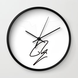 Rafael Nadal RN Tennis Player Logo Wall Clock