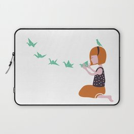 Origami bird Laptop Sleeve
