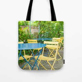 Dinner in the French Countryside Tote Bag