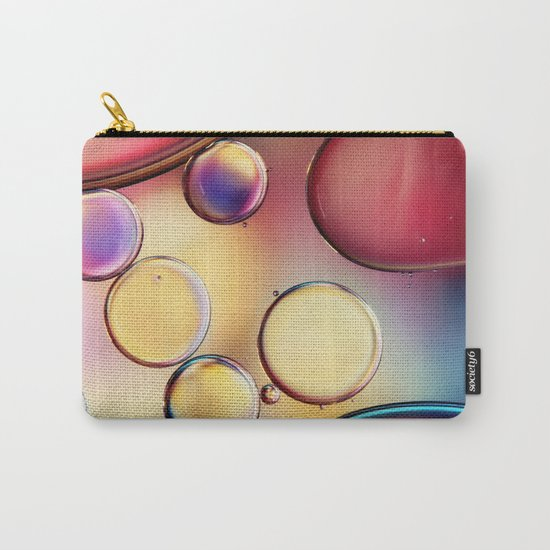 Colourful Oil Drops Carry-All Pouch