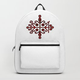 Papa Legba Elegua Veve Sigil Backpack