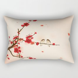 Oriental plum blossom in spring 007 Rectangular Pillow
