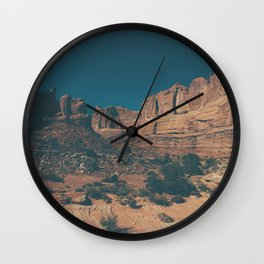 Arches National Park Panoramic Wall Clock