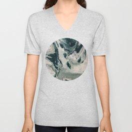 Galaxy Marble Swirl Unisex V-Neck