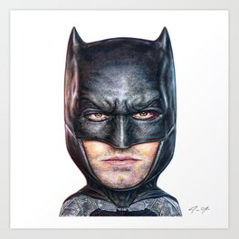 Bat Bobble Art Print