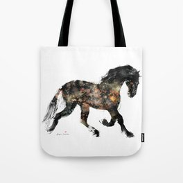 Horse (Distant Galaxy) Tote Bag