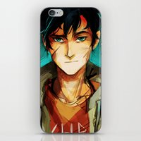 viria iPhone & iPod Skins featuring the son of neptune by viria