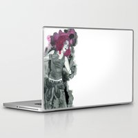 fight Laptop & iPad Skins featuring Fight by TopHat Arts