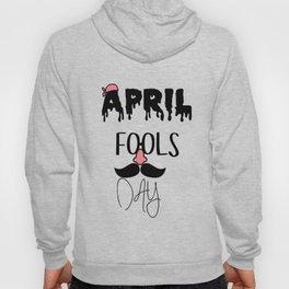 Glasses Nose Beard - Happy April Fool's Day Hoody