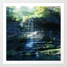 Fairy Falls Art Print