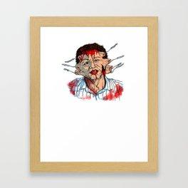 Hellraiser Uncle Frank Framed Art Print